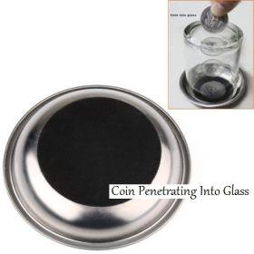 Монета сквозь стакан Coin Penetrating Into Glass