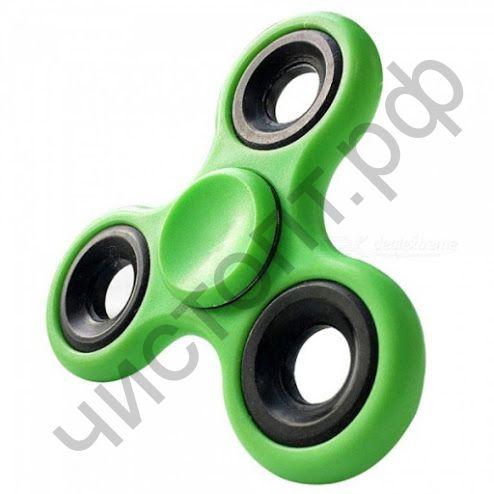 Спиннер игрушка- антистресс HC-02 (зеленый) пластик/метал