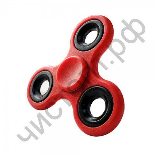 Спиннер игрушка- антистресс HC-02 (красный) пластик/метал