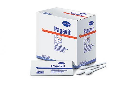 PAGAVIT - Палочки с ватной головкой, пропитанные глицерином: 25 х 3 шт.