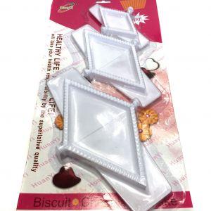 Треугольная форма-пресс для пельменей, вареников и пирожков Healthy Life, HuanYi