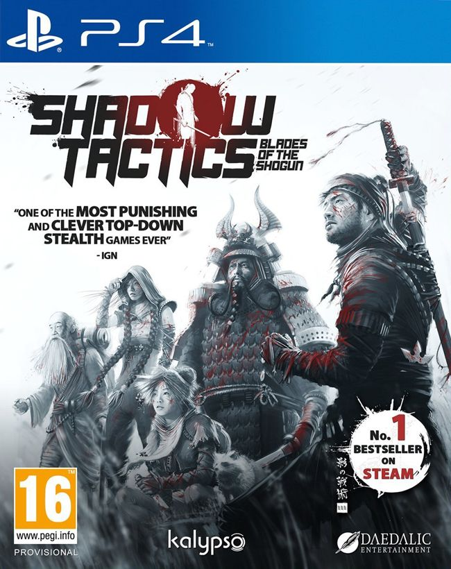 Игра Shadow Tactics Blades of the Shogun (PS4)