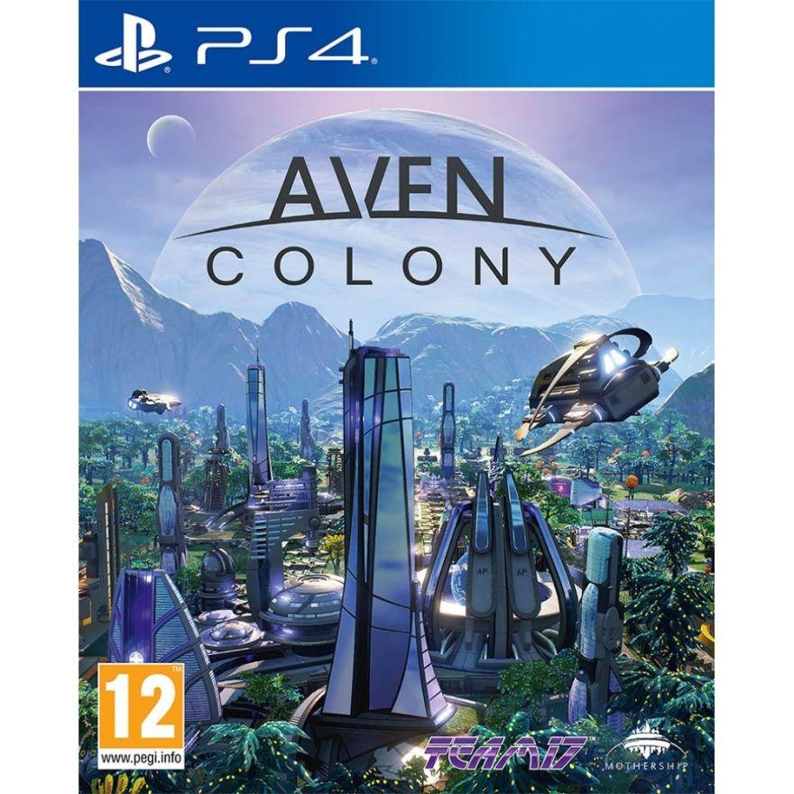 Игра Aven Colony (PS4, русские субтитры)