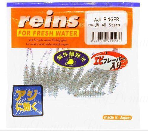 "Приманка Reins AJI Ringer 1.5"", в уп. 15 шт. #204 UV All Stars"