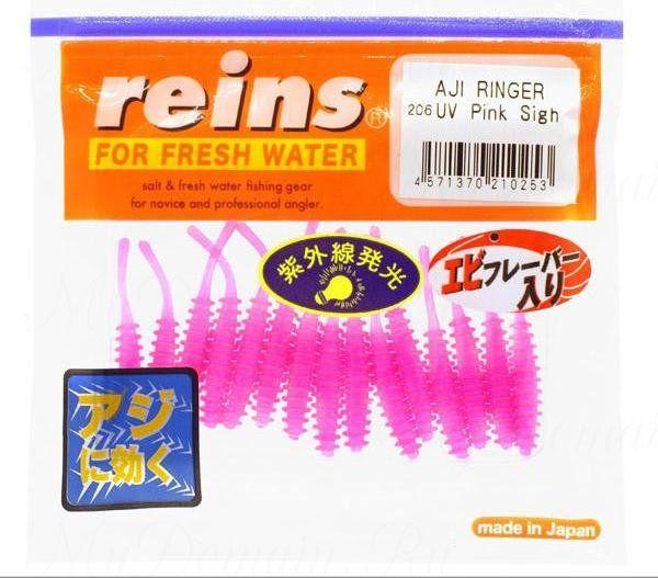 """Приманка Reins AJI Ringer 1.5"""", в уп. 15 шт. #206 UV Pink Sigh"""