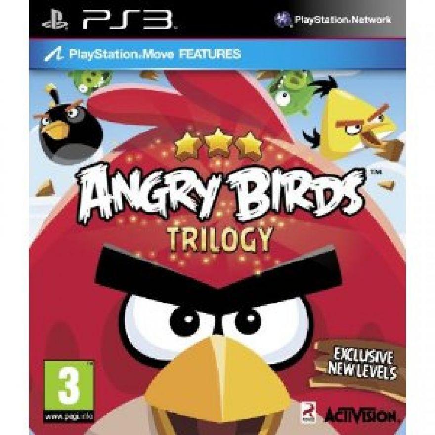 Игра Angry Birds Trilogy (PS3)