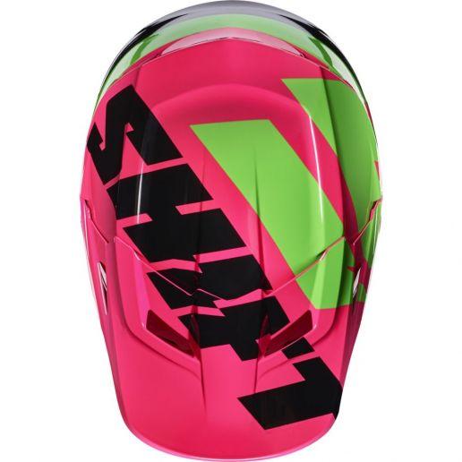 Shift - 2017 White Tarmac козырек к шлему, черно-розовый