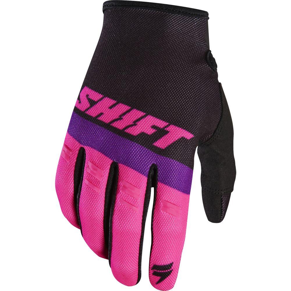 Shift - 2017 White Label Air перчатки, черно-розовые