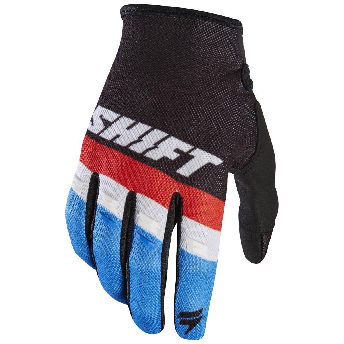 Shift - 2017 White Label Air перчатки подростковые, черные