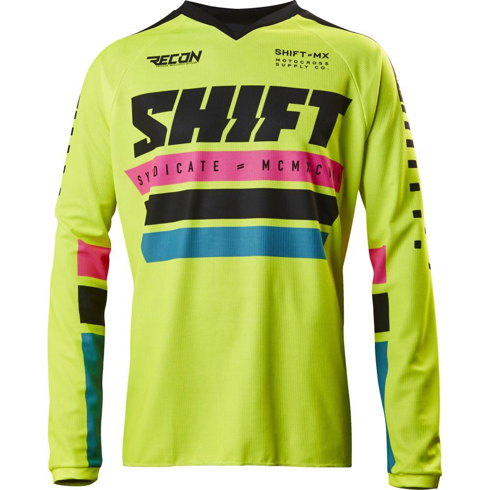 Shift - 2017 Recon Phoenix джерси, желтое