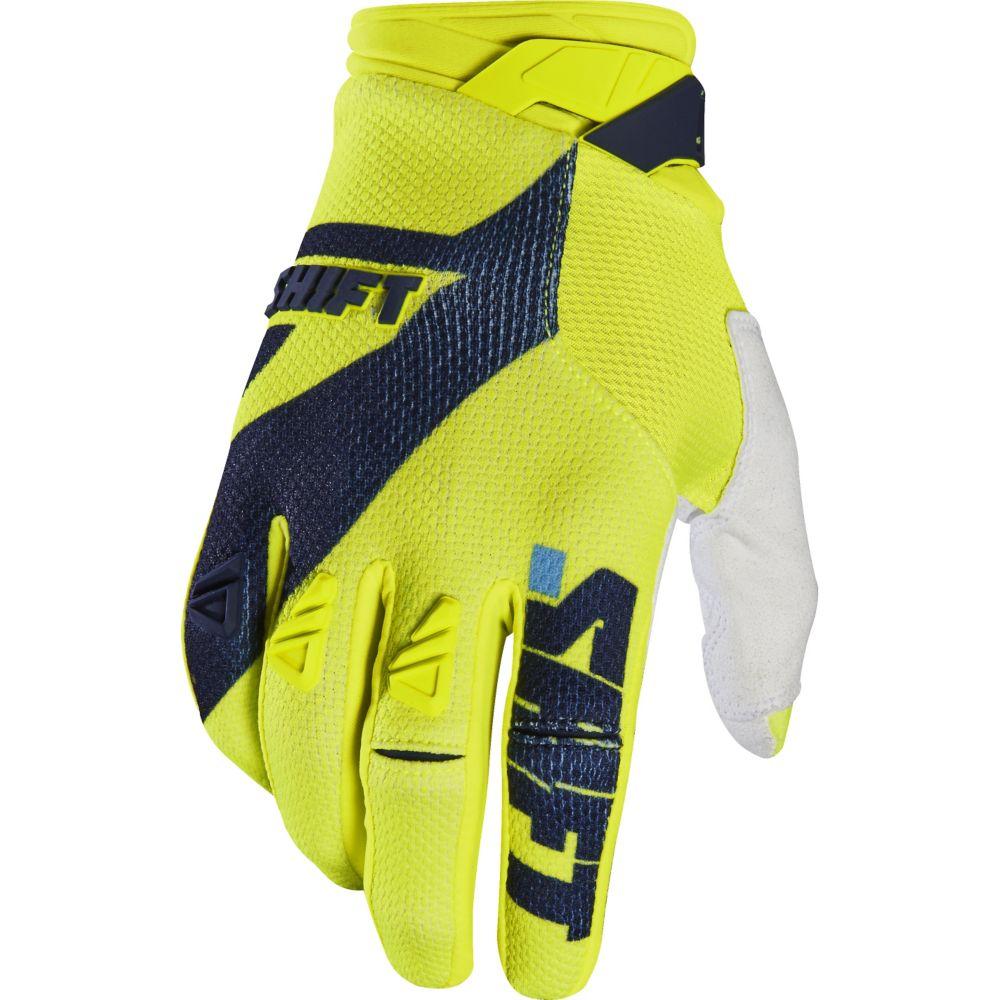 Shift - 2017 3LACK PRO Mainline перчатки, желтые