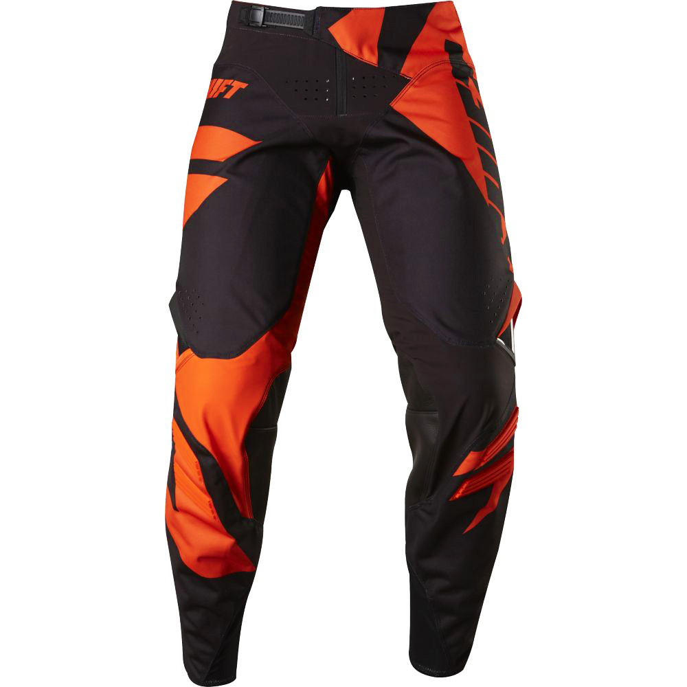 Shift - 2017 3LACK Mainline штаны, черно-оранжевые