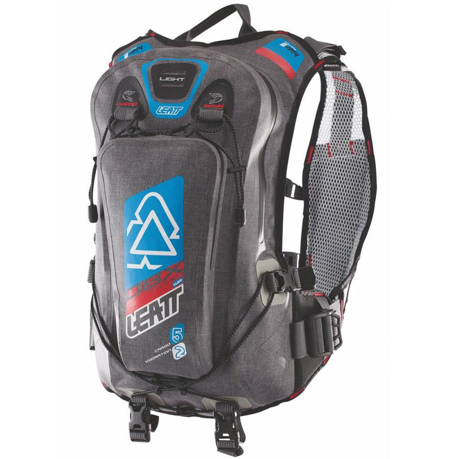 Leatt - DBX Enduro Lite WP 2.0 Black/Blue/Orange рюкзак c гидропаком, черно-сине-оранжевый