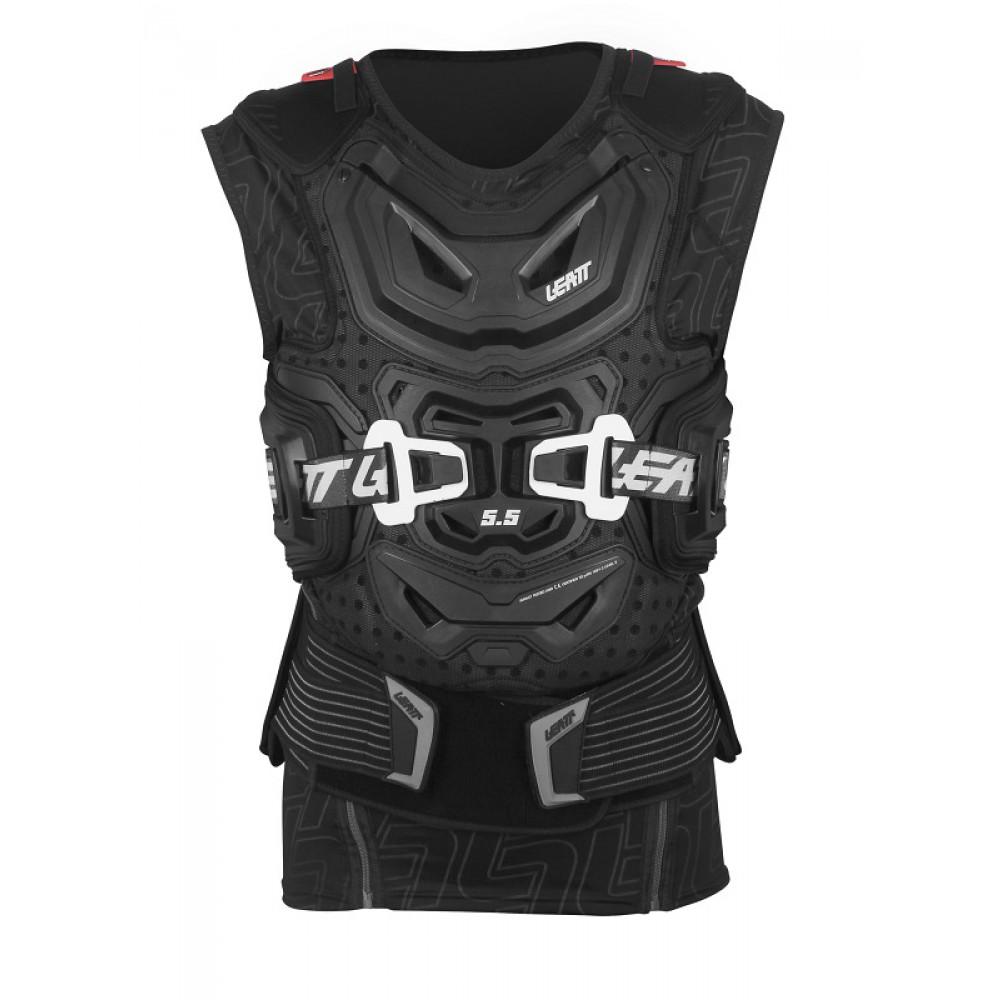 Leatt - 2017 Body Vest 5.5 защитный жилет, черный