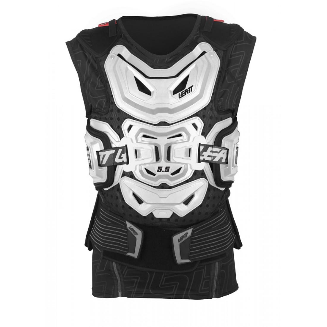Leatt - 2017 Body Vest 5.5 защитный жилет, белый