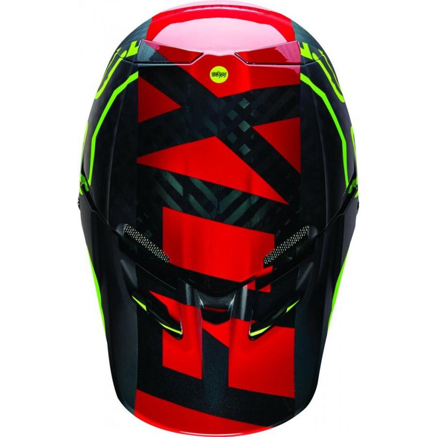 Fox - V4 Libra козырек к шлему, желтый