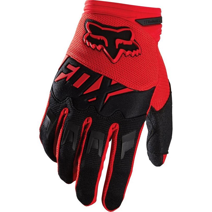 Fox - Dirtpaw Race перчатки, красные