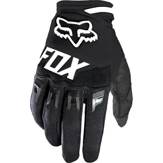 Fox - Dirtpaw Race Youth перчатки подростковые, черные