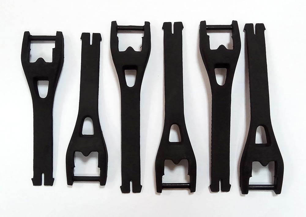 Fox Comp 5Y/3Y Buckle/Strap Kit комплект стреп к мотоботам