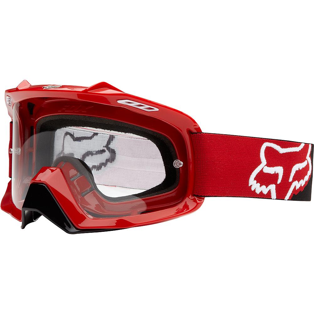 Fox - AIR SPACE Killa Red очки, прозрачная линза