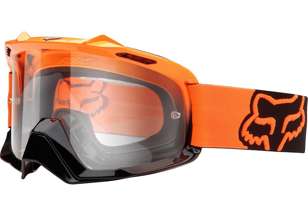 Fox - AIR SPACE Day Glow Orange очки, прозрачная линза