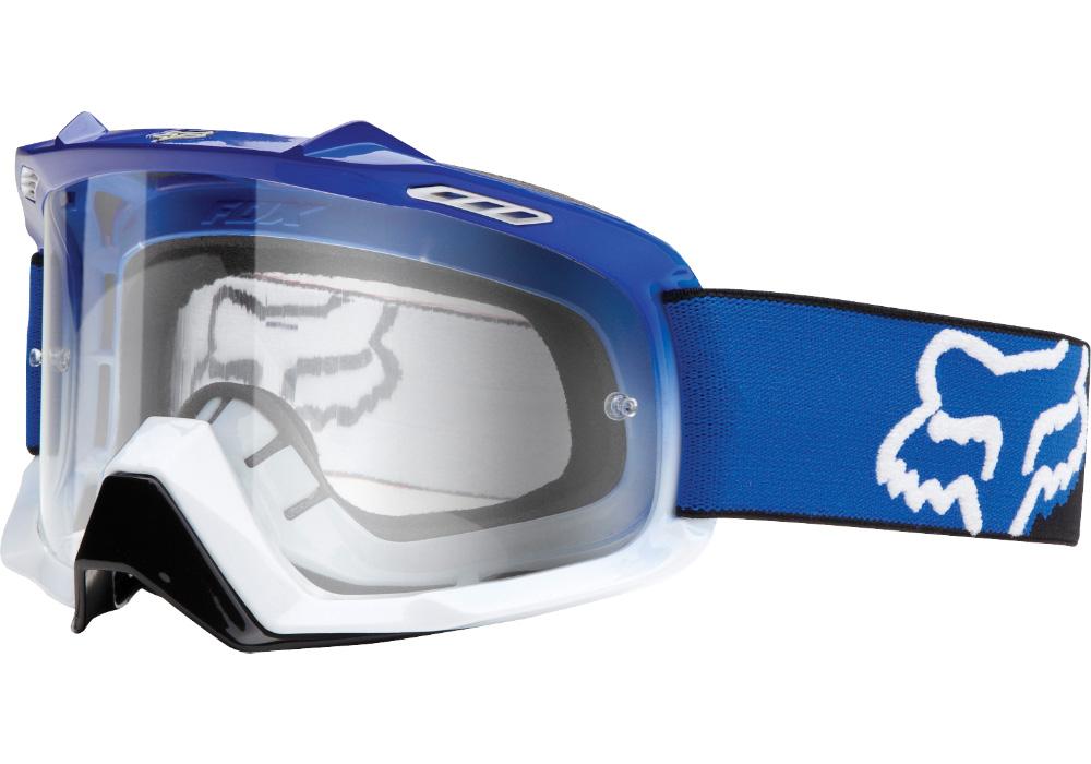 Fox - AIR SPACE Blue-White Fade очки, прозрачная линза