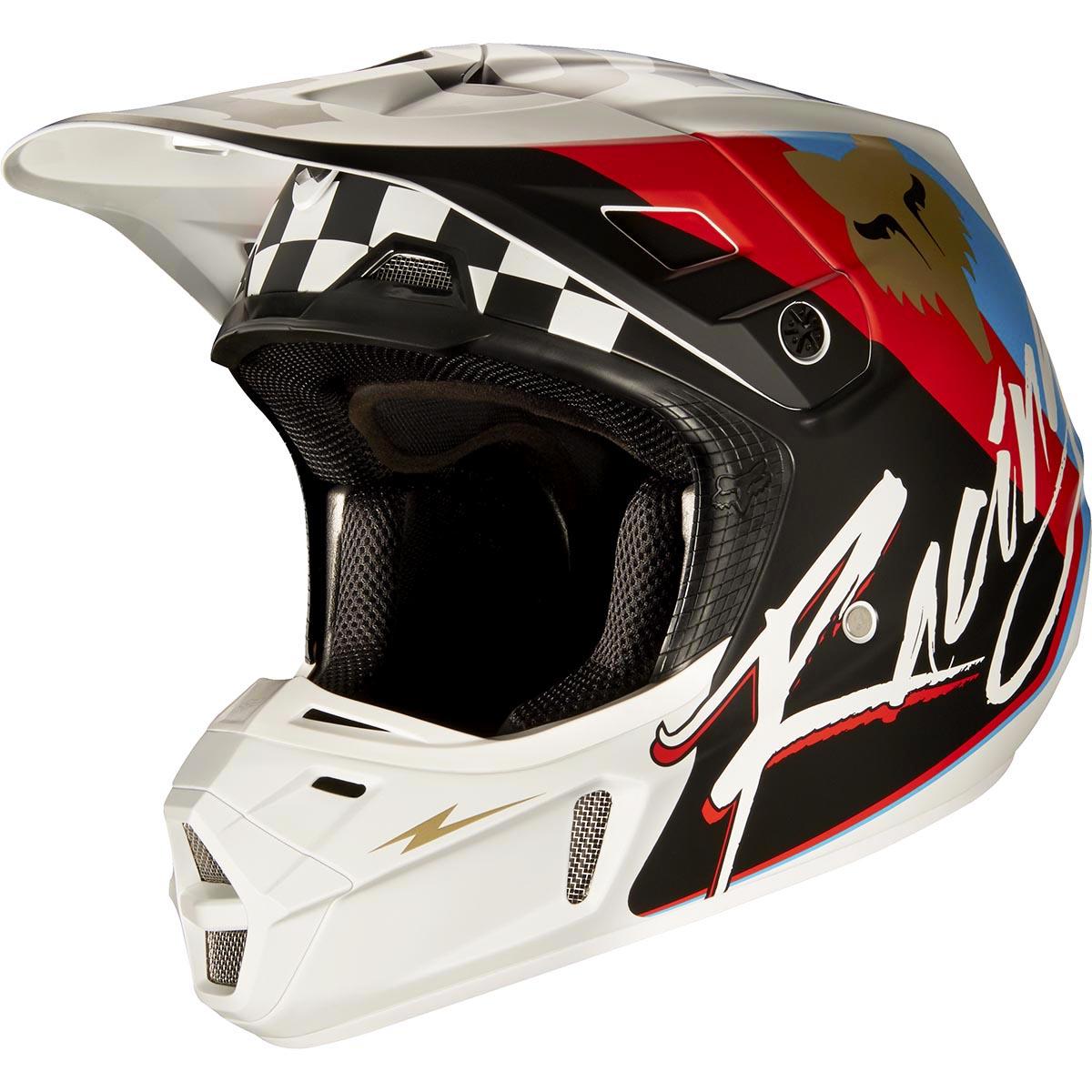 Fox - 2017 V2 Rohr шлем, черный