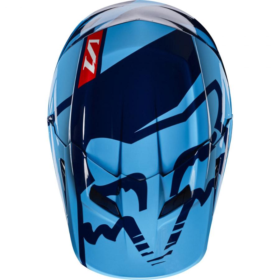 Fox V1 Race козырек к шлему, синий
