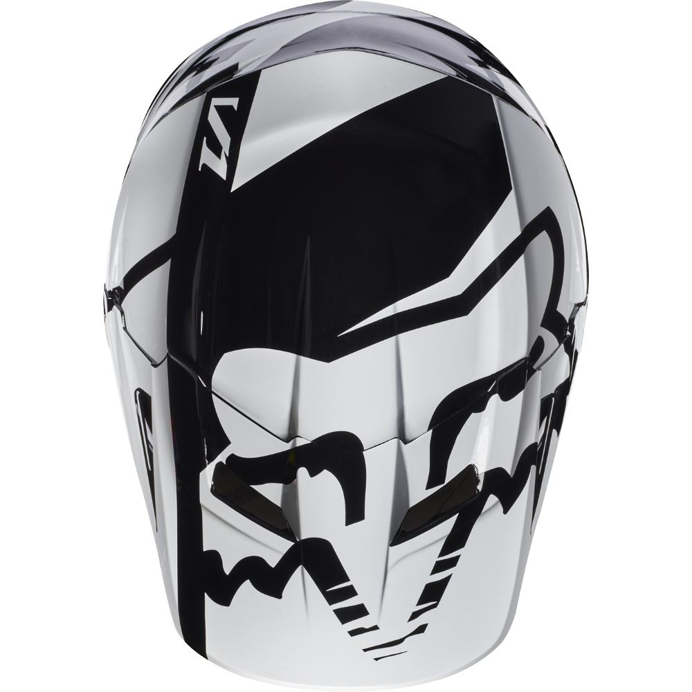 Fox V1 Race Youth Helmet Visor козырек к шлему подростковому, черный