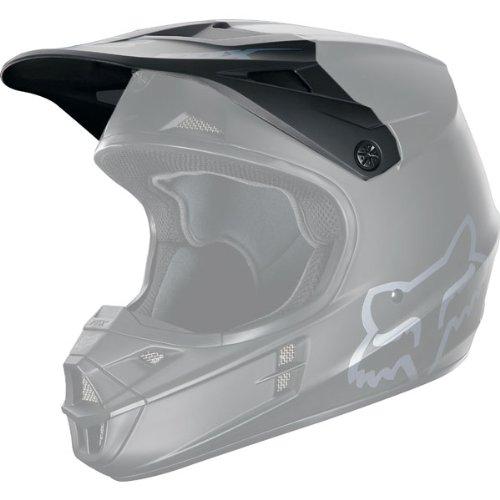 Fox V1 Matt Black, козырек к шлему, черный матовый