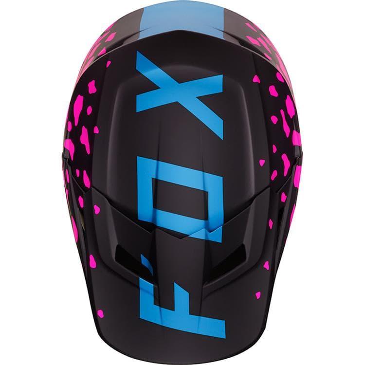 Fox V1 Grav козырек к шлему, черно-розовый