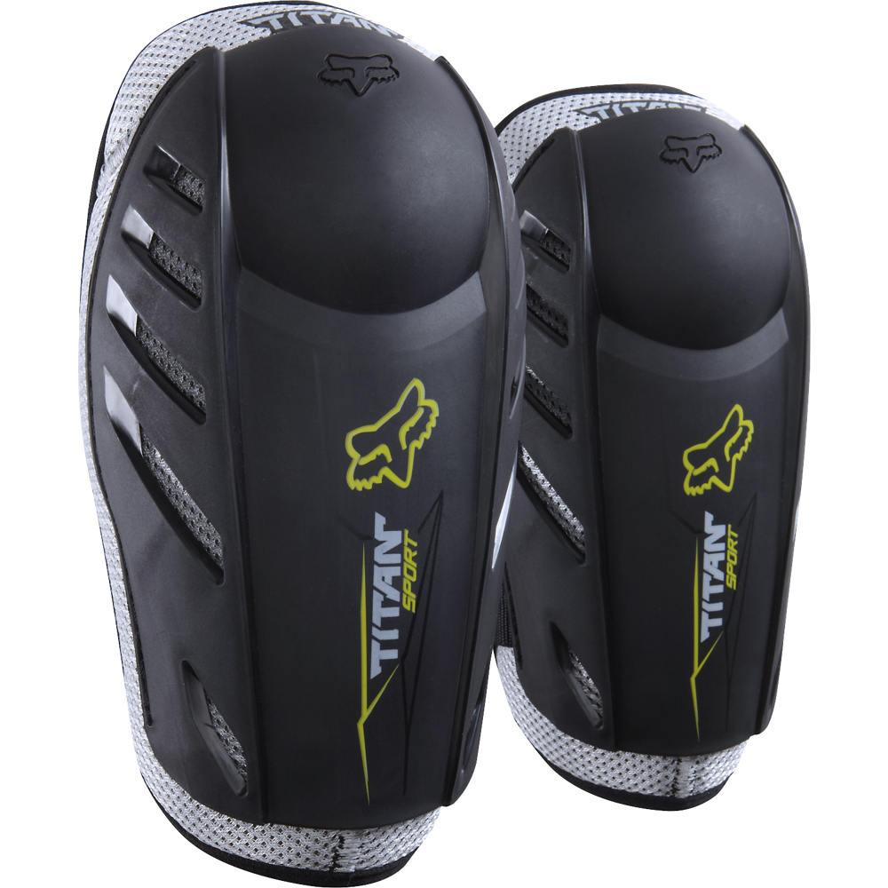 Fox Titan Sport Elbow Guard Black налокотники