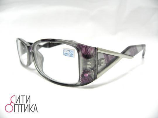 Готовые очки с диоптриями -1.00. Лисички