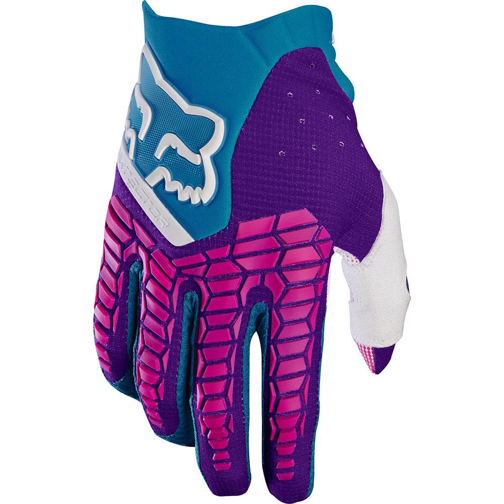 Fox Pawtector перчатки, сине-зеленые