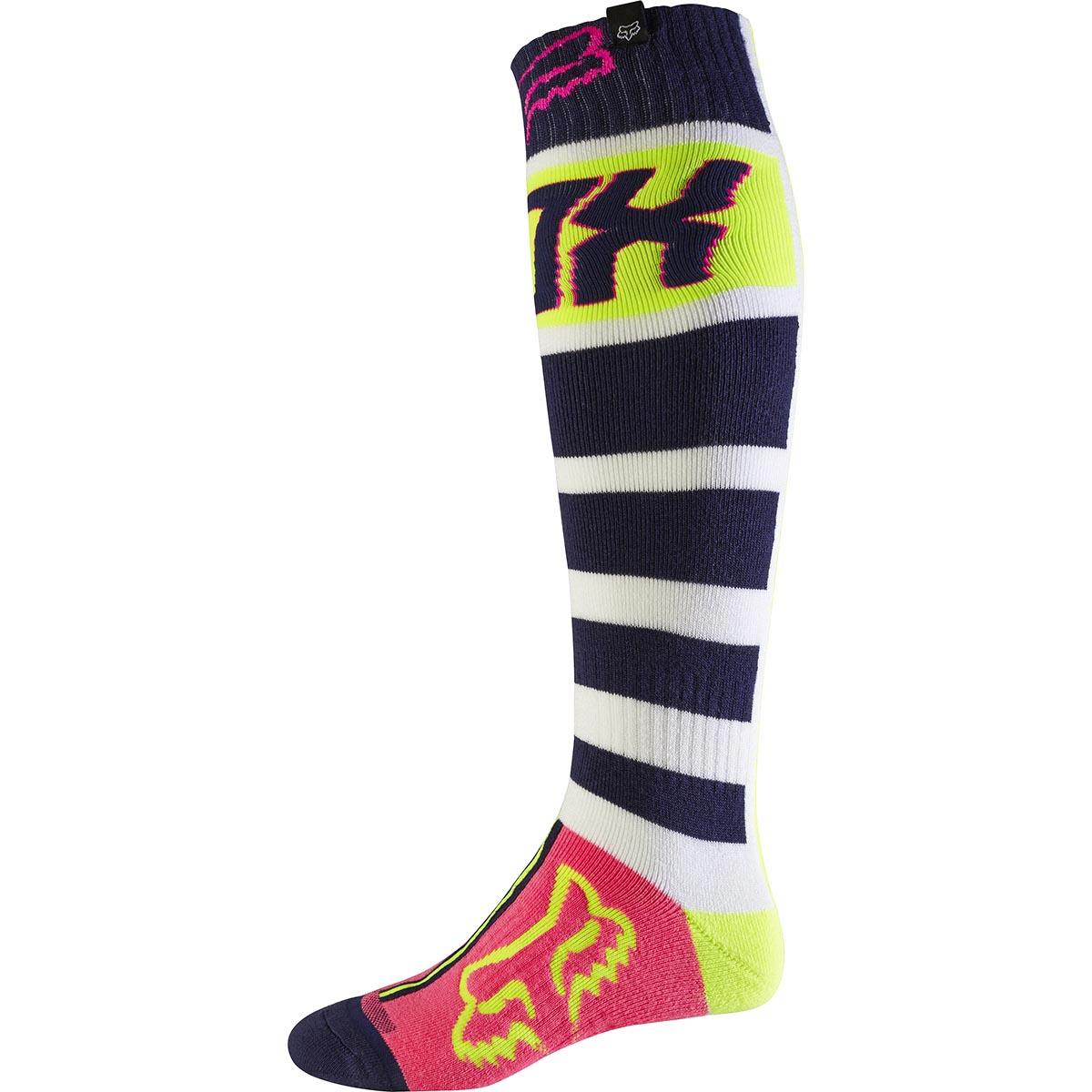 Fox - 2017 FRI Falcon Thick носки плотные, сине-белые