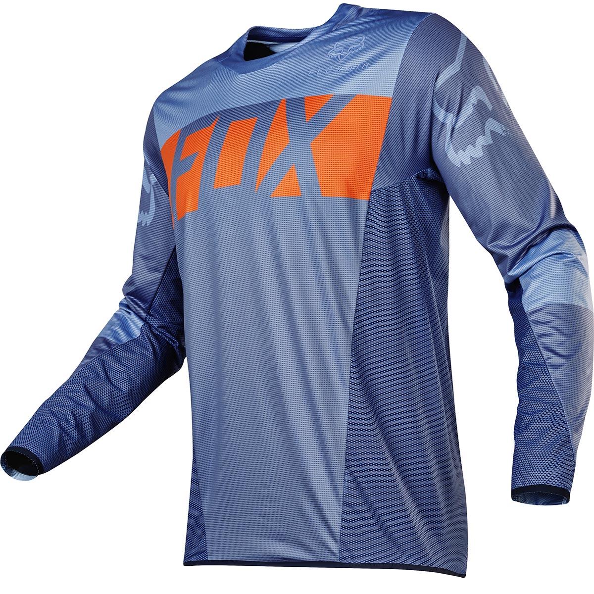 Fox - 2017 Flexair Libra джерси, оранжево-синее