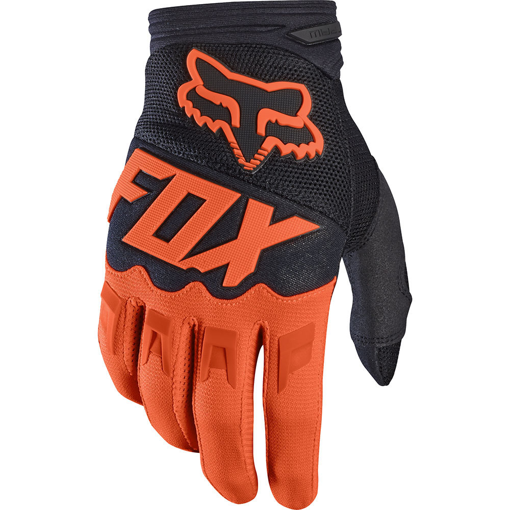Fox - 2017 Dirtpaw Race перчатки, оранжевые