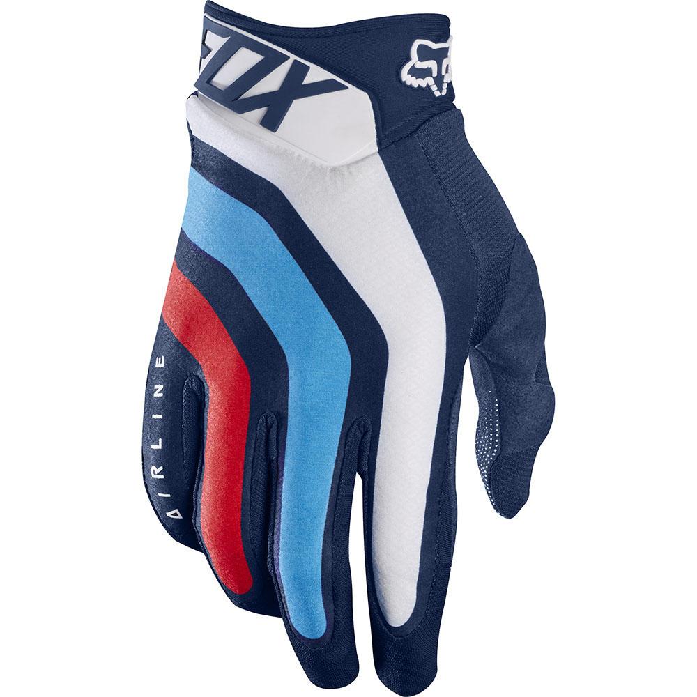 Fox - 2017 Airline Seca перчатки, темно-синие