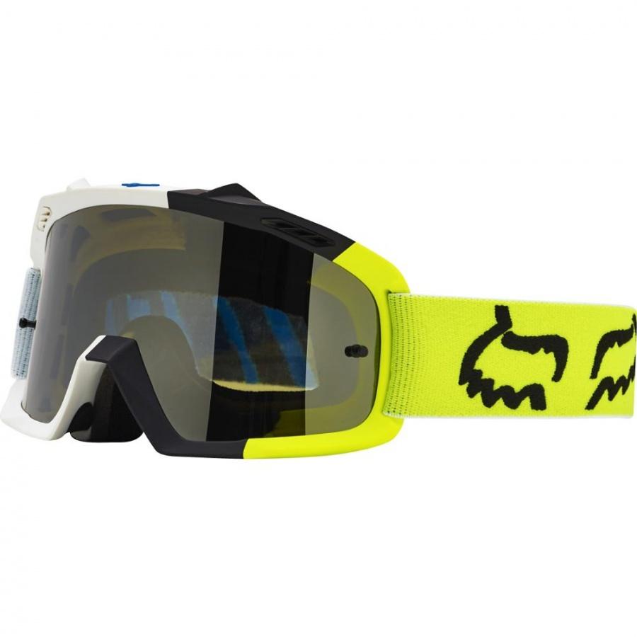 Fox - 2017 Air Space Youth Creo очки подростковые, бело-желтые