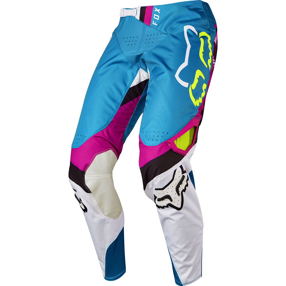 Fox 360 Rohr штаны, зелено-голубые