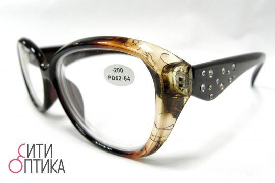 Готовые очки с диоптриями -2.00.