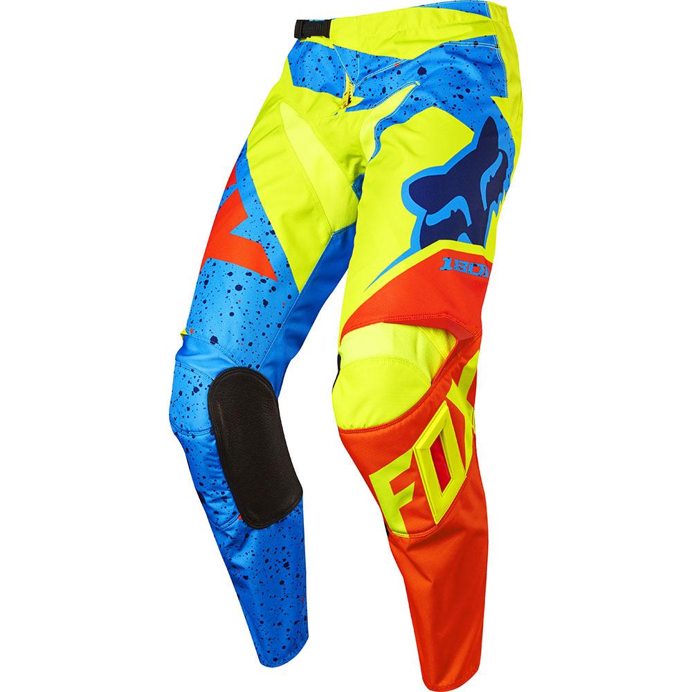 Fox - 2017 180 Nirv штаны, желто-синие