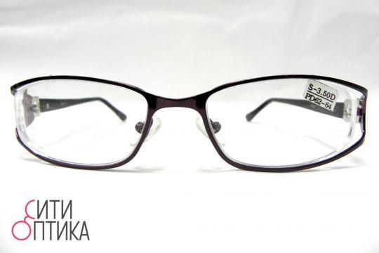 Готовые очки с диоптриями -3.50.