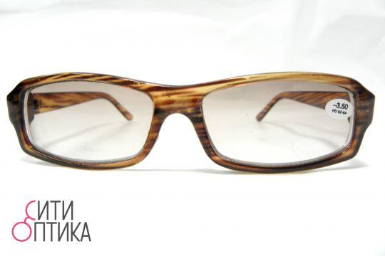 Готовые очки с диоптриями -3.50. Тонированные