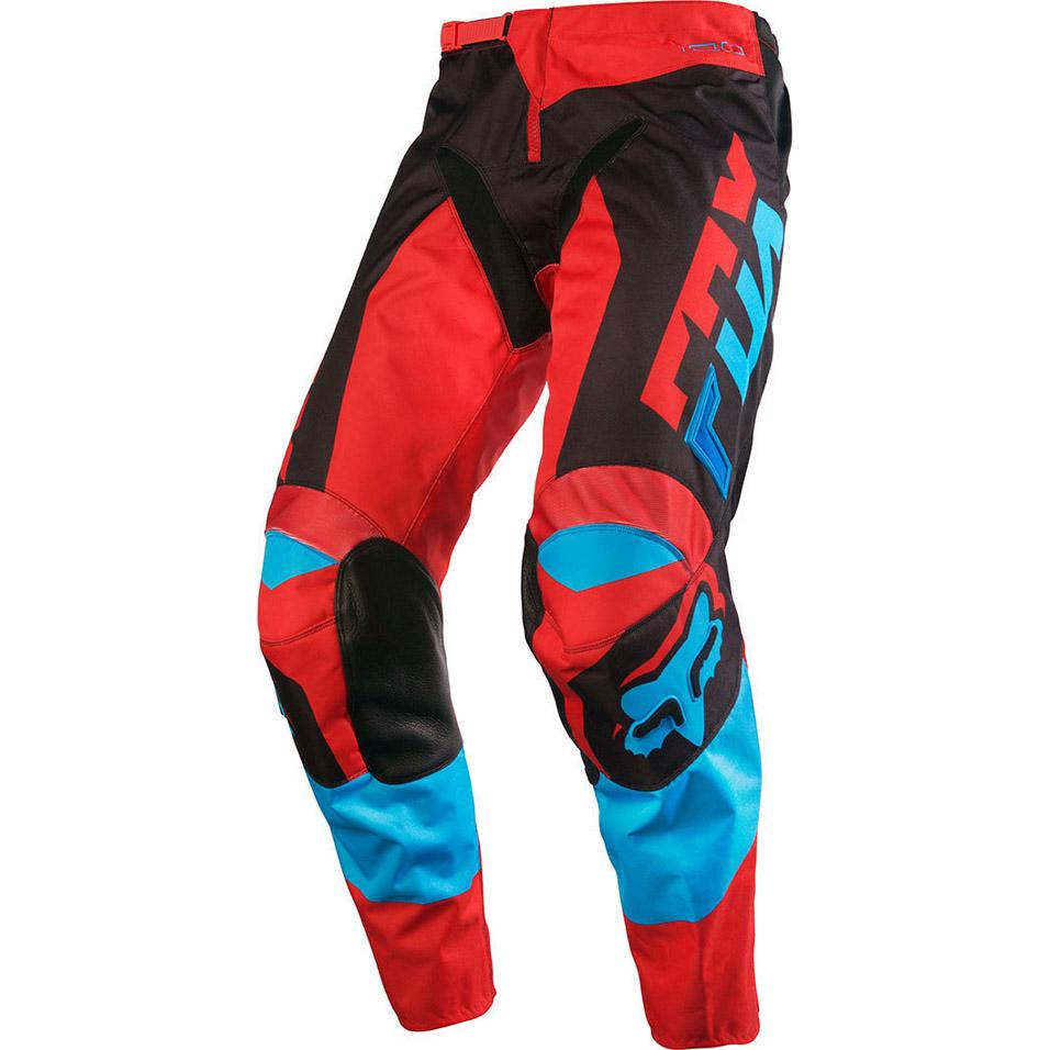 Fox - 180 Mako штаны, сине-красные