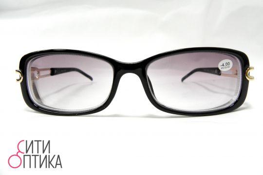 Готовые очки с диоптриями. Тонированные