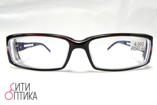 Готовые очки с диоптриями -6.00.