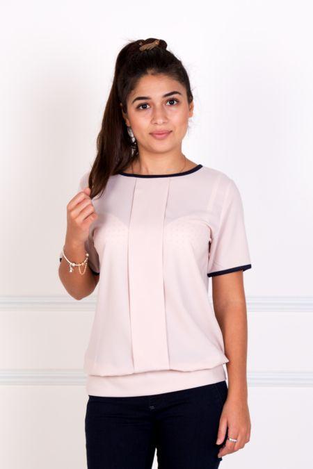 """Блуза """"Кира"""" розовая."""