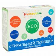 Стиральный порошок FreshBubble отбеливающий, 1кг