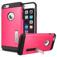 Чехол Spigen Slim Armor для iPhone 6S Plus розовый